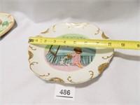 Plate Assortment; (6)