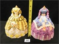 Cookie Jars; Fancy Dresses