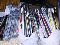 Hangers; Plastic & Wire; 100 plus