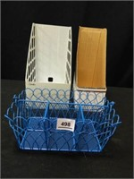 Storage Containers; (3)