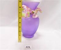 Pink Glass Vase; Lenox Vase