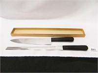 Cattaraugus Kitchen Knives (2)