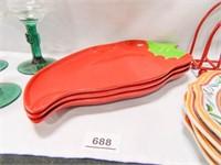 Margarita Glasses; Serving Dishes