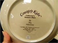 Country Kids Dessert Plates (4)