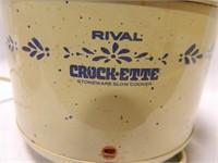 Rival Crockette; West Bend Pot