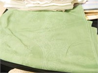Linens; Tablecloths; Embroidery
