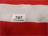 """Flag Fabric; 5 Flags-35"""" x 59"""" each"""