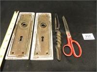 Doorknob Backplates-2; Knife