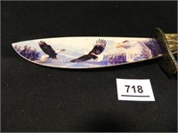 Collector's Knife w/Eagles