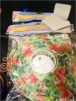 Baskets; Plastic Plates; Napkins