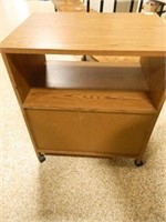 Printer Cabinet w/Castors