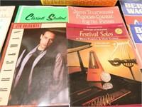 Piano Books; Sheet Music