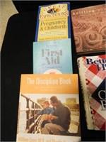 Recipe Books; First Aid; Pregnancy