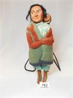 Skookum Indian Female Doll w/ Child