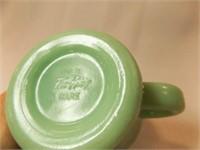 "Jadeite Fire-King Mug, 3½"" """