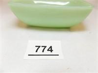 "Jadeite Fire-King Square Bowl, 4½"" """