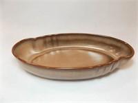 """Frankoma Brown Bowl, 10½"""""""