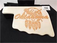 Frankoma Beige Oklahoma Trivet