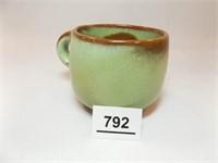 Frankoma Green Cup