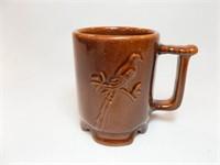 Frankoma Brown Scissortail Mug