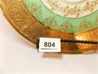 Victoria Czechoslovakia Platter, 24K Gold