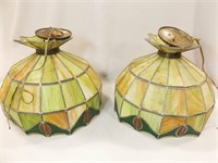 Handcrafted Tiffany Style Lamps (2)