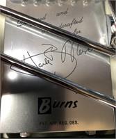 BURNS MARVIN GUITAR IN WHITE-BURNS LONDON NEW W/TA