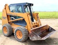 1998-00 Case 75XT Skid Steer, diesel eng, w/bucket, 4983 hrs, SN: JAF0255392