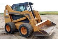 1998-99 Case 95XT Skid Steer, diesel eng, w/bucket, 3200 hrs, SN: JAF0237910