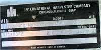 1984 International TK (view 4 - VIN Plate)