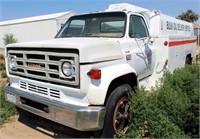 GMC 7000 TK w/Fuel Tank