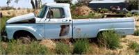 1965 Ford F250 PK, 4-spd trans, reg cab, 2wd, 3/4-ton, no engine