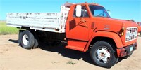 1969 GMC 5500 TK w/Grain Bed, rear hoist, not running