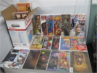 Box of approx 115 comics all #1/special editions