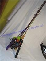 FISHING ROD/REELS