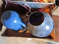 BLUE GRANITE/SPOONS