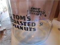 TOM'S PEANUTS JAR