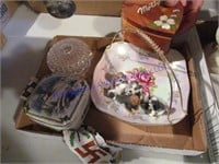 COVERED JEWELRY BOXES