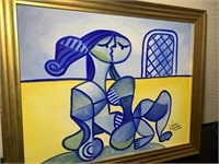 Verlayn Villanueva original oil painting.