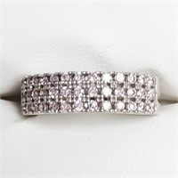 $280 Silver CZ Ring