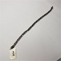 $1900 Silver Diamond(1.03ct) Bracelet