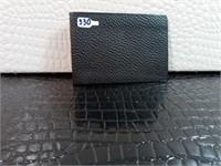 Black Plaget Wallet