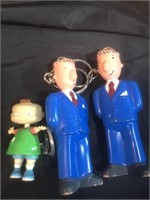 Lot of key holders-Business Man, Monster and