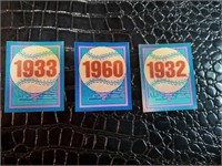 Baseball Cards and Magic Motion Trivia Cards
