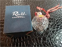 Ruckl Crystal Tree Ornament