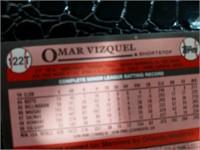 1989 Mariners' Omar Vizquel Topps Trading Card