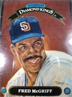 FRED McGRIFF 1991 baseball card