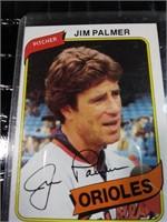 Jim Palmer 1980 baseball card