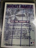 MICKEY MANTLE 1990 baseball card