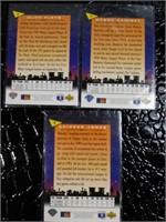 CHIPPER JONES, CLIFF FLOYD, MANNY RAMIRES 1994